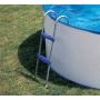 Echelle piscine hors sol 2 marches 98cm