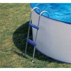 Echelle piscine hors-sol 2 marches 98cm