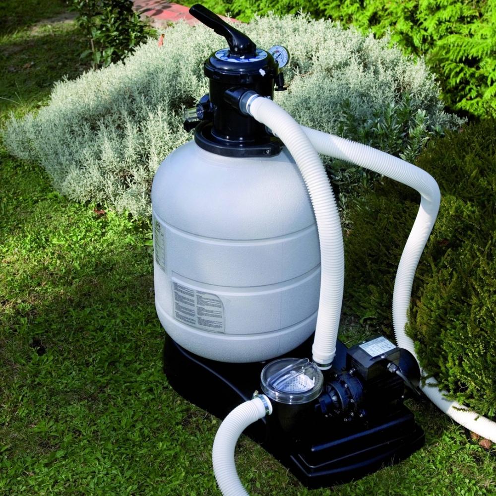 Groupe de filtration gr pour piscine hors sol for Branchement filtre piscine