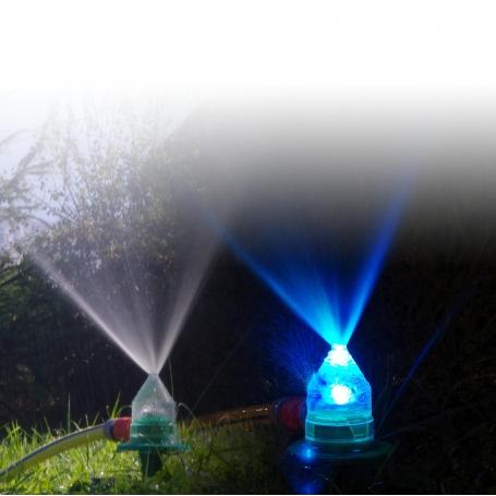 Brumisateur Arroseur lumineux à leds 7 couleurs