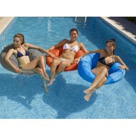 Fauteuil flottant piscine BEAN BAG Taupe