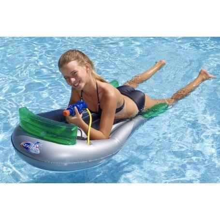 Matelas gonflable SURF CANON avec pistolet à eau intégré