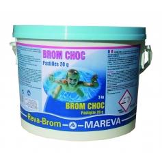 Régénérateur de brome BROM CHOC - Mareva