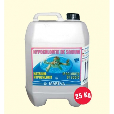 Chlore liquide 36 mareva for Bromure de sodium piscine