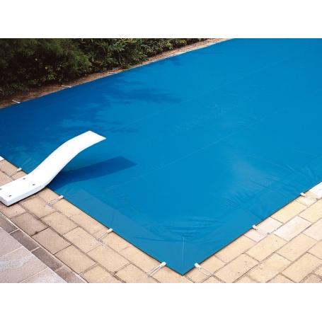 Couverture d 39 hiver opaque de s curit wintersafe for Bache rigide pour piscine