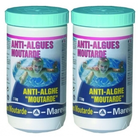 Pack de 2 stop algues moutarde mareva for Anti phosphate piscine