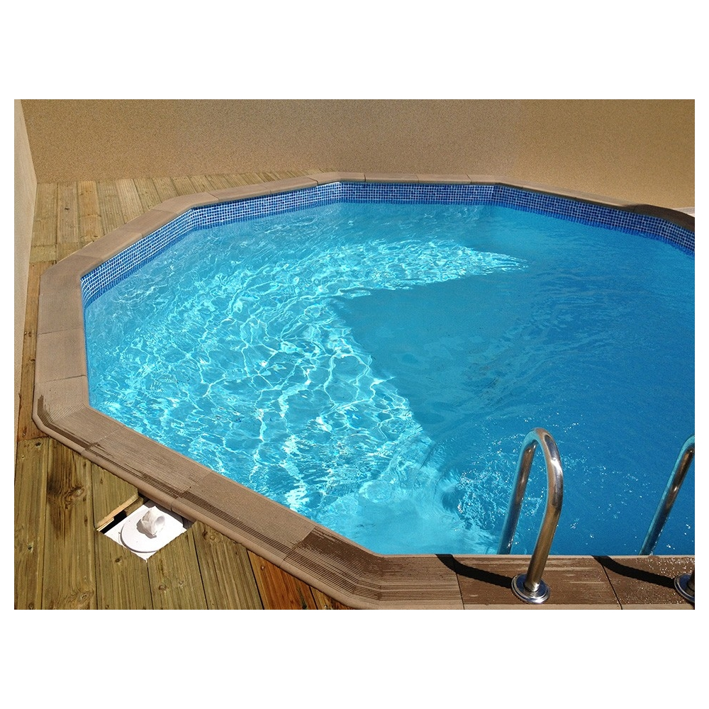 Kit piscine b ton aspect bois naturalis for Piscine kit bois
