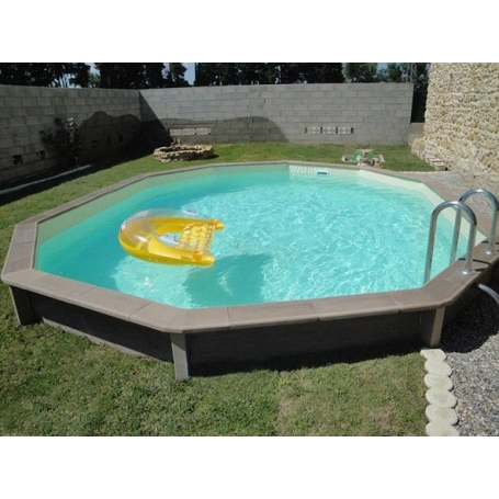 Kit piscine b ton aspect bois naturalis for Piscine en kit beton