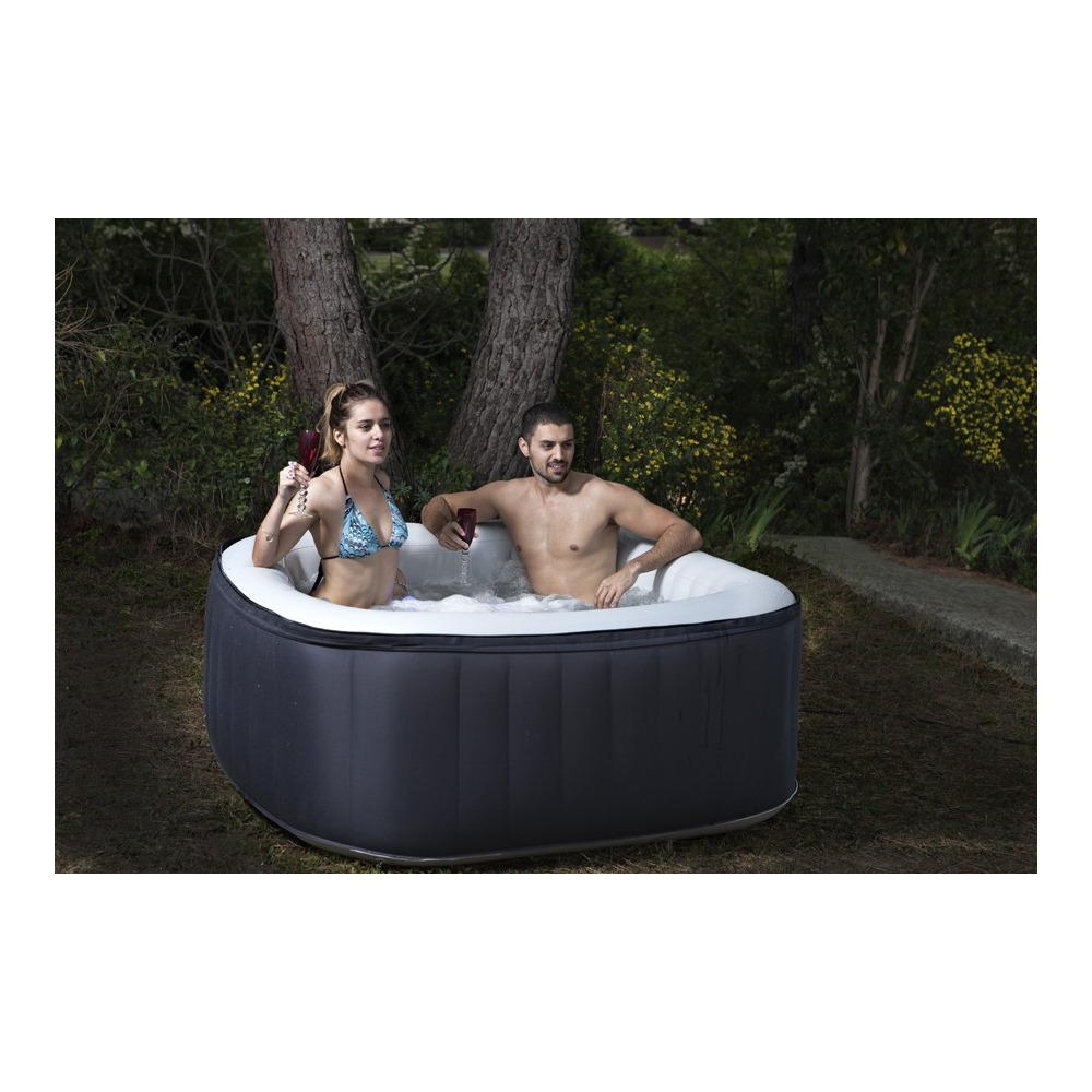 Spa gonflable 4 places - Jacuzzi gonflable 2 personnes ...