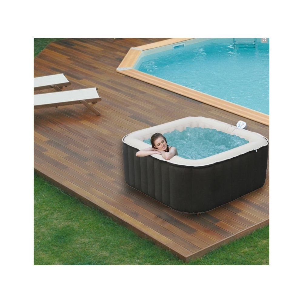 Spa gonflable super spark 3 4 places - Avis jacuzzi gonflable ...