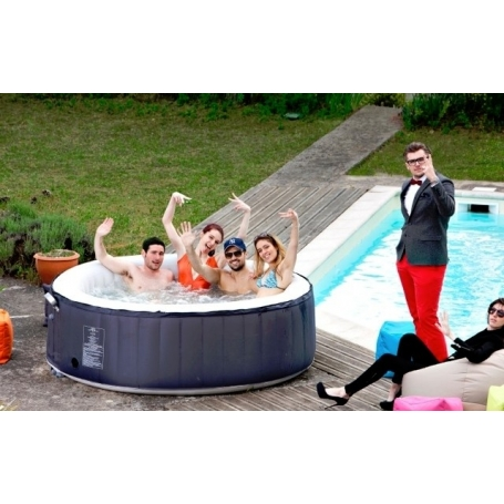 Spa gonflable spark 6 places - Avis jacuzzi gonflable ...