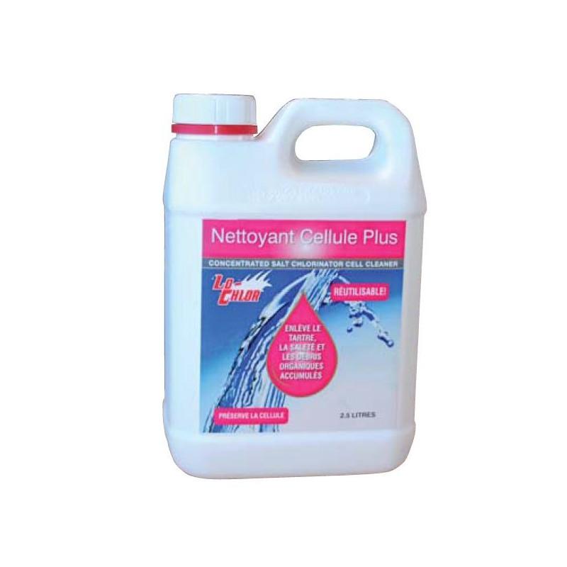 Nettoyant CELLULE PLUS pour cellules d'électrolyseur - Lo Chlor
