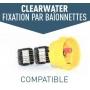 Cellule compatible électrolyseur clearwater ZODIAC baionnettes