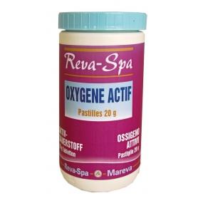 Oxygène actif en pastilles pour spa REVA SPA - Mareva