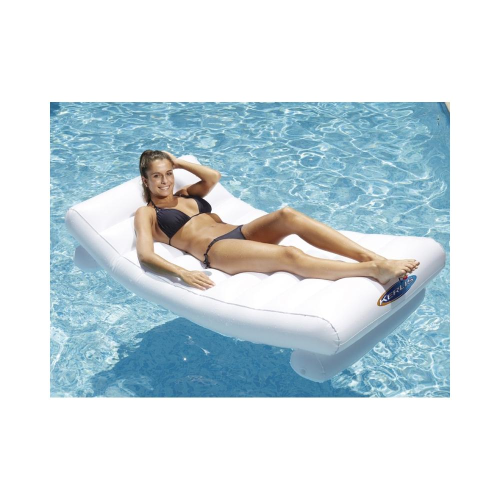 Matelas gonflable piscine for Piscine gonflable