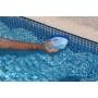 Brosse pour nettoyer la ligne d'eau de la piscine