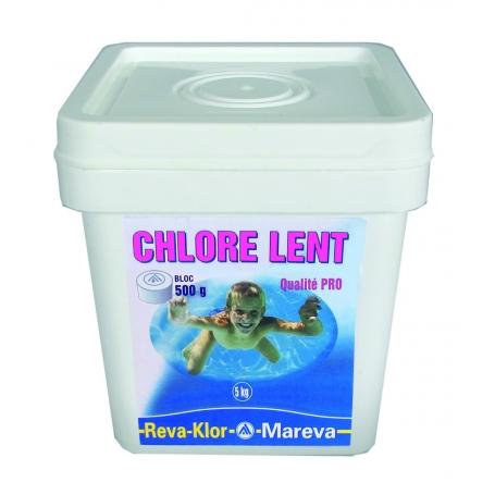 Galets de Chlore lent 500 g REVA-KLOR - Mareva