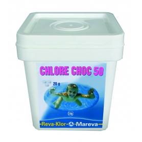 Traitement chlore REVA-KLOR Choc 50 - Mareva