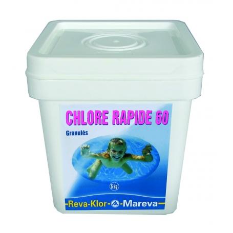 Chlore rapide 60 mareva for Produit piscine discount