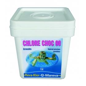 Traitement chlore REVA-KLOR Choc 90 - Mareva