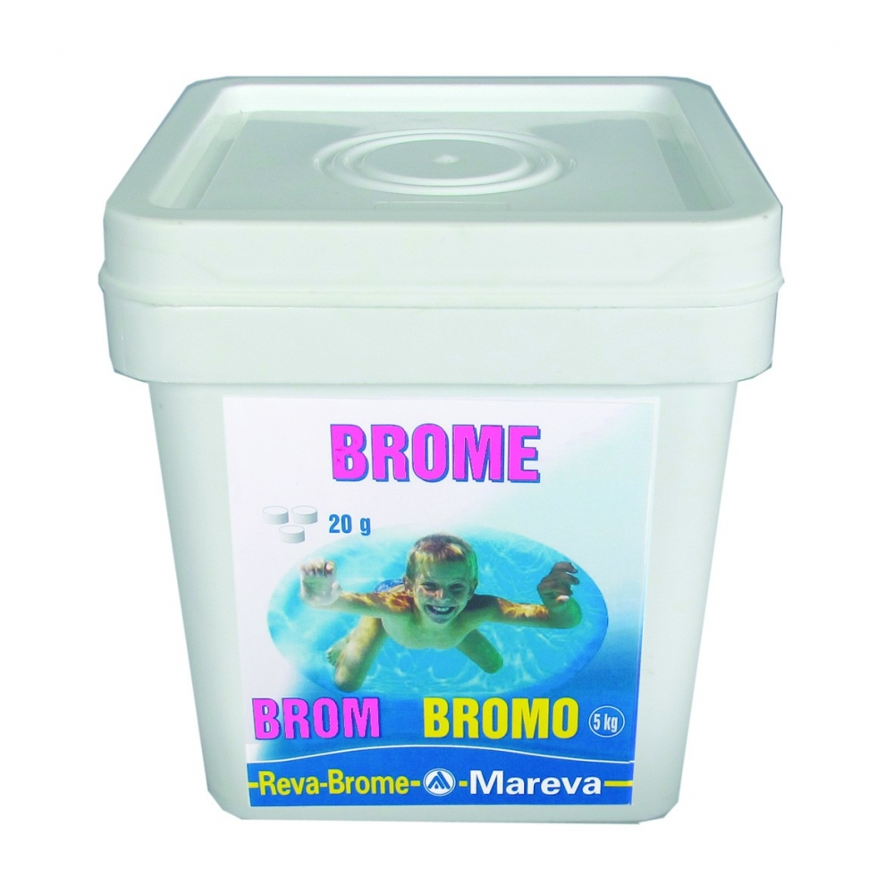 Traitement au brome mareva for Piscine brome