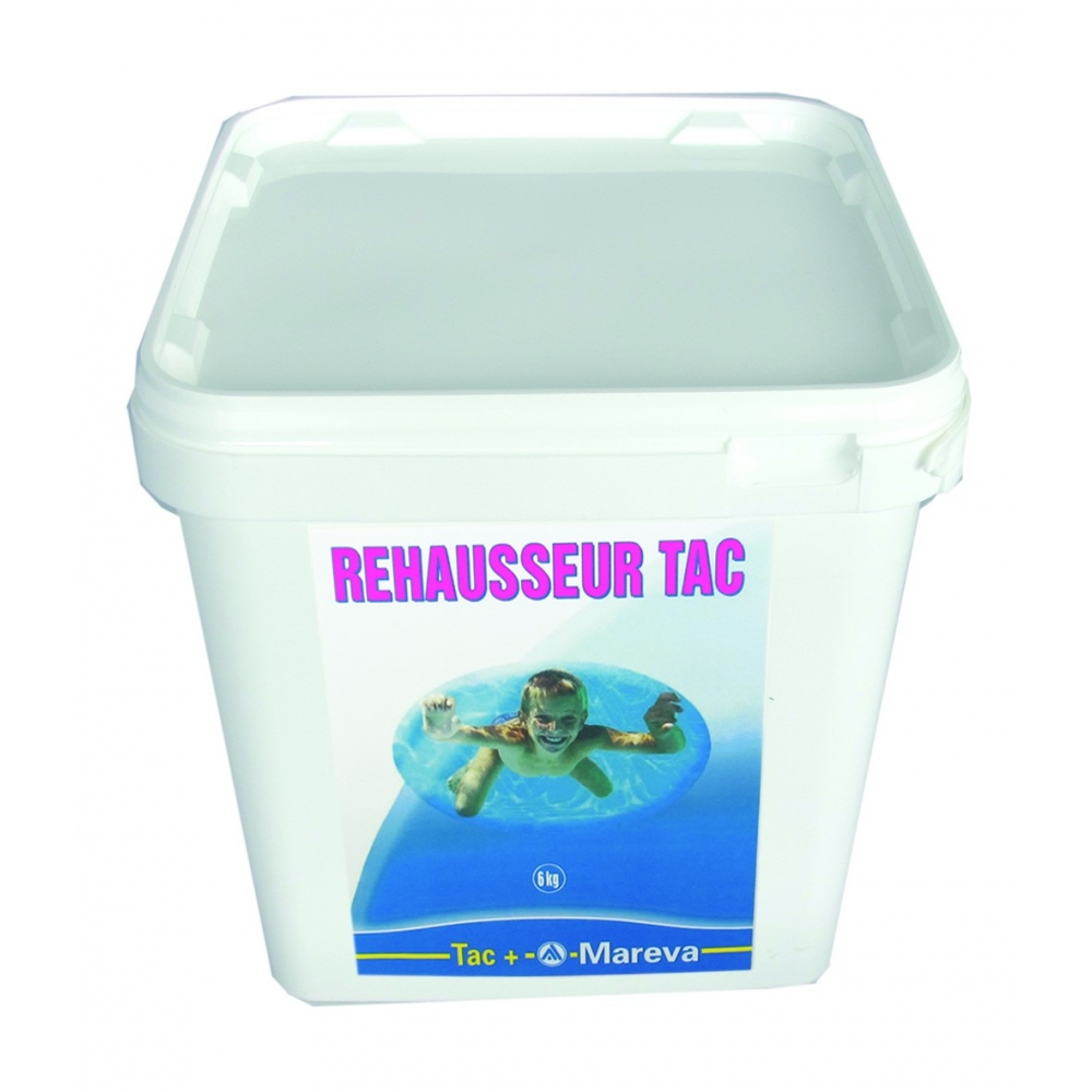 R hausseur de tac piscine mareva for Tac produit piscine