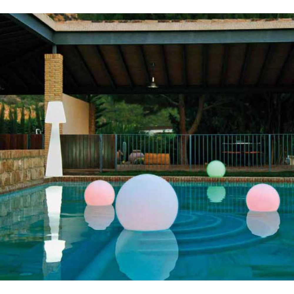 Lampe boule lumineuse leds buly for Accessoire piscine 69