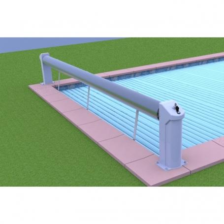 Volet hors sol bahia ii sur batterie eca for Volet piscine hors sol