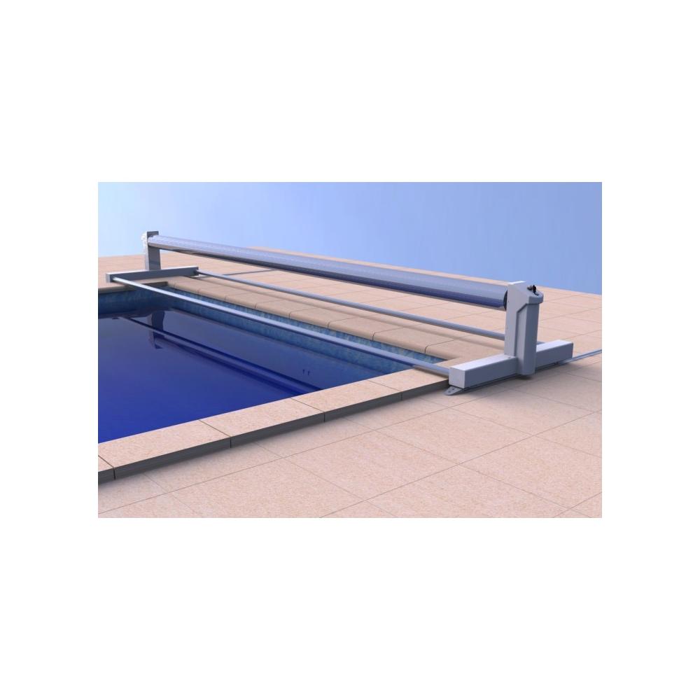 Volet hors sol bahia ii sur batterie eca for Rail piscine hors sol