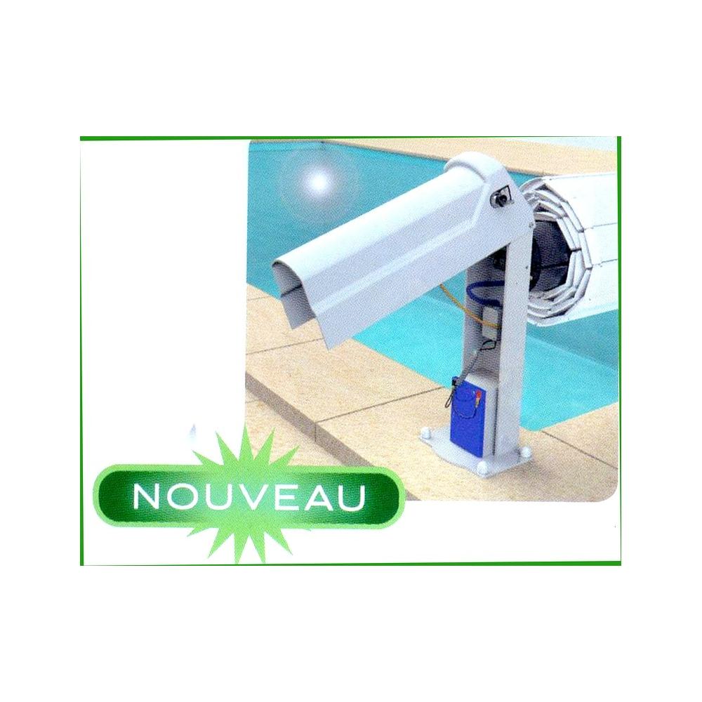 Volet hors sol bahia ii sur batterie eca for Volet piscine hors sol electrique