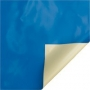 Couverture à barres EASY ONE Albigès bleue