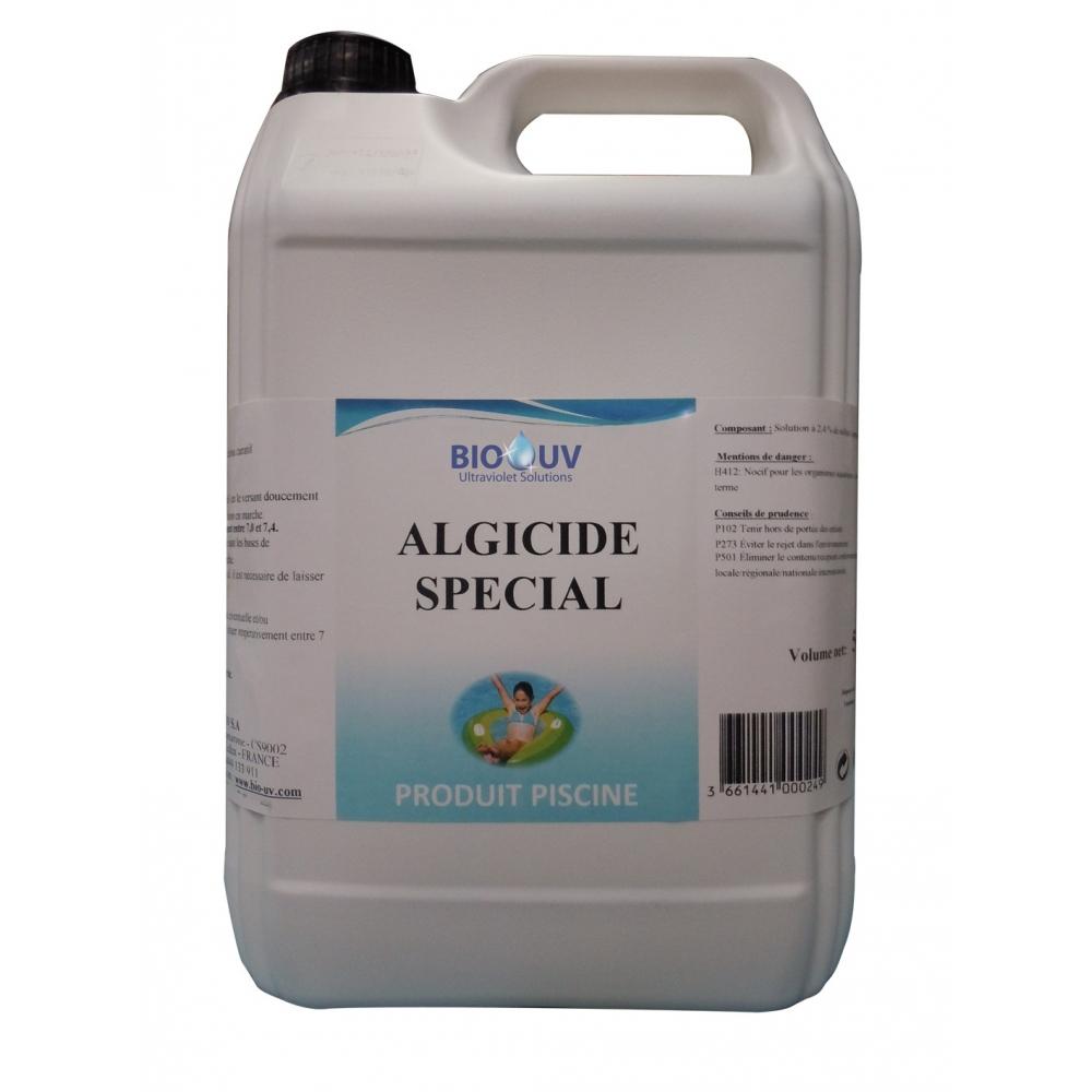 Bio uv algicide sp cial pour traitement piscine uv for Algicide piscine