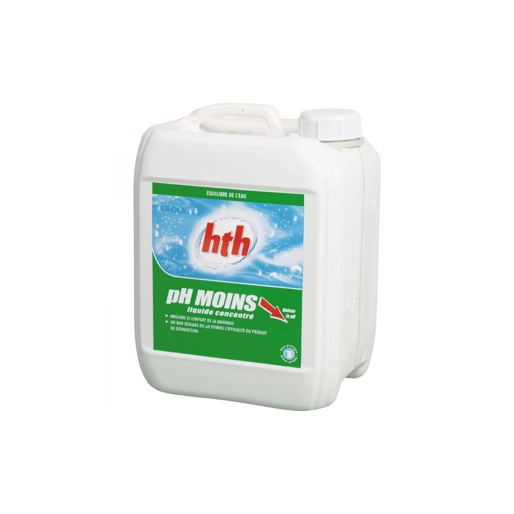 Correcteur ph ph moins liquide hth for Ph moins liquide