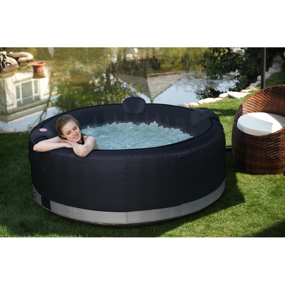 Jacuzzi gonflable 6 places for Spa gonflable exterieur