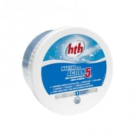 Chlore multifonction ACTION 5 hth - 1 bloc de 500g
