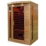 Sauna Infrarouge Bois Hemlock Astral 2 places