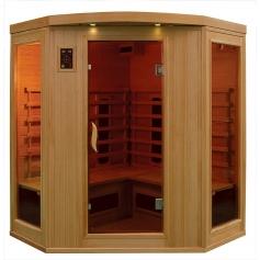 Sauna Infrarouge Bois Hemlock Astral 3-4 places