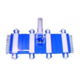 Balai flexible + brosses latérales BFLEX pour piscine béton