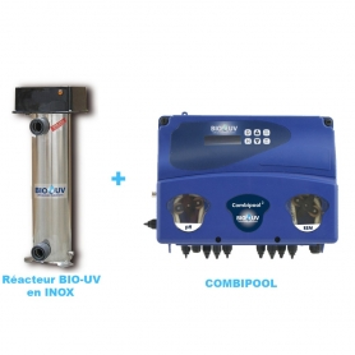 Pack + BIO-UV Inox avec OXYGENE ACTIF