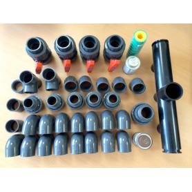 Pack Plomberie Piscine diamètre 50 mm