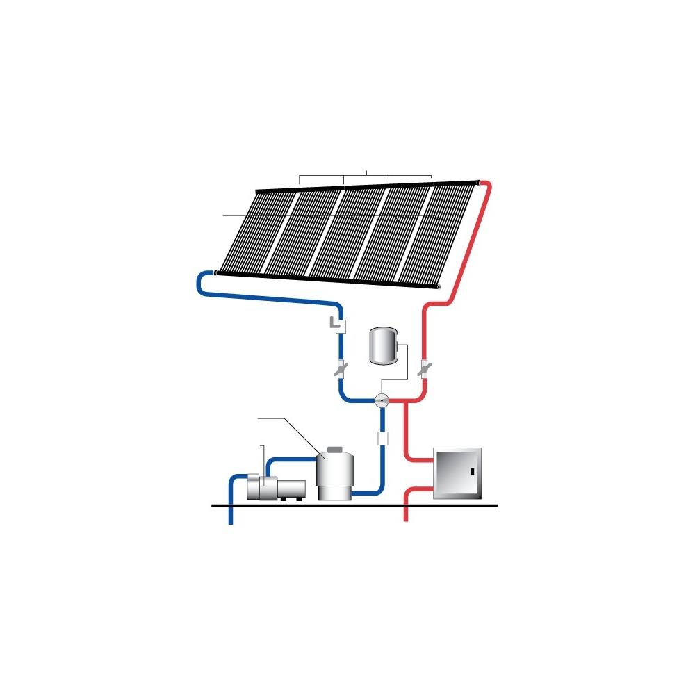 Chauffage solaire piscine heliocol simple et efficace for Chauffage solaire piscine hors sol