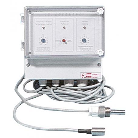 Coffret de régulation pour chauffage solaire CCS-1