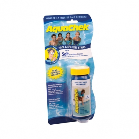 Trousse de contr le aquachek blanc sel for Analyse eau piscine