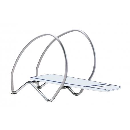 Plongeoir piscine flexible DYNAMIC avec arceaux