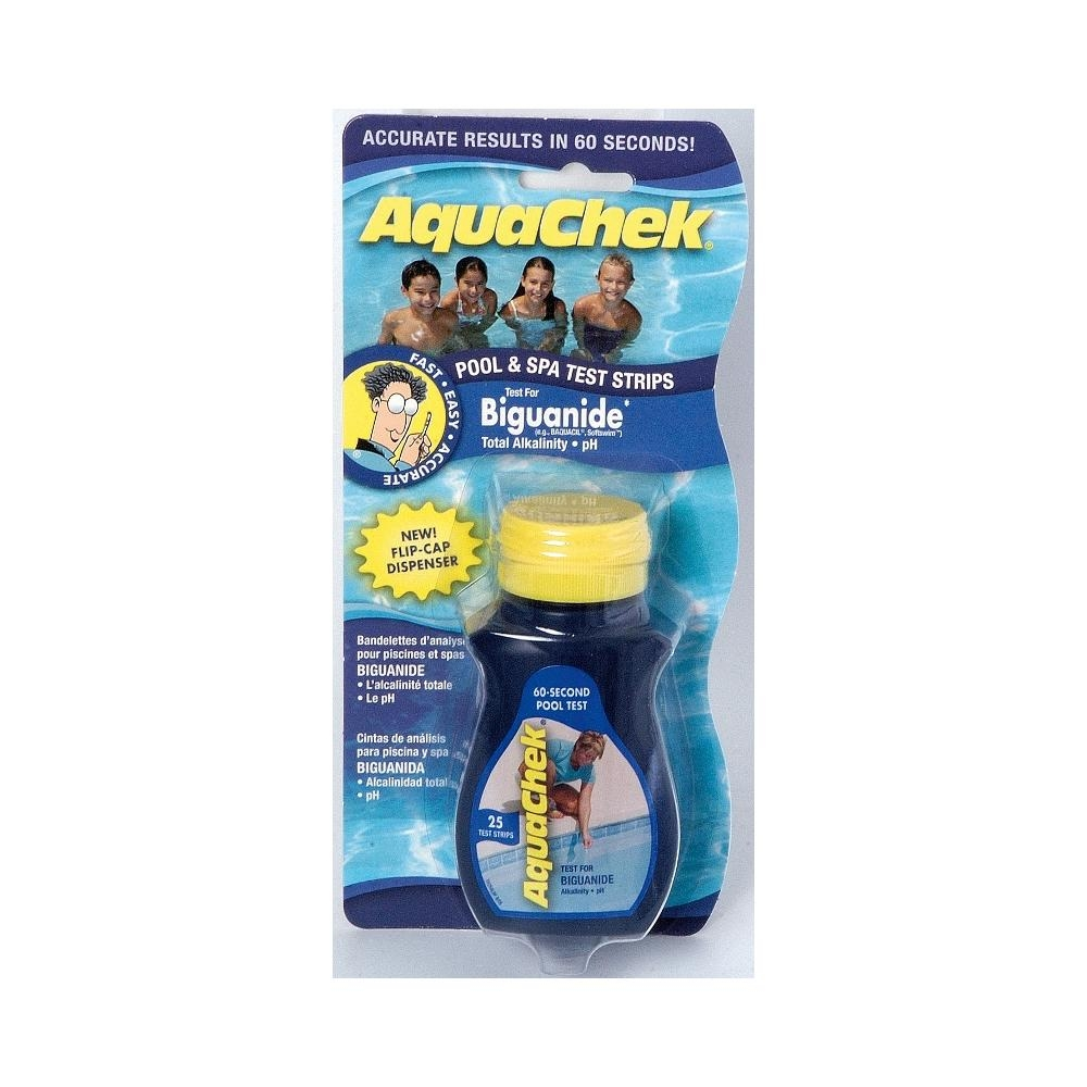 Trousse d 39 analyse aquacheck phmb for Analyse eau piscine