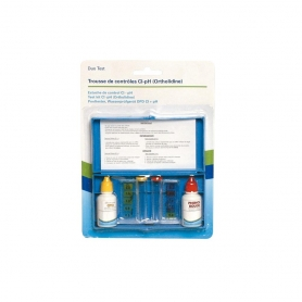 Trousse d'analyse Chlore/pH (Ortholidine)
