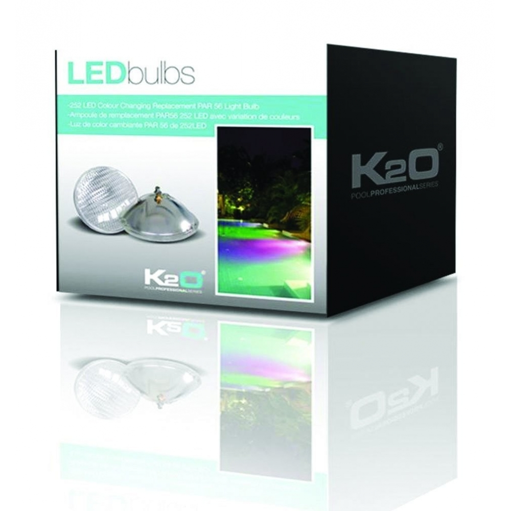 lampe led piscine de couleurs k2o. Black Bedroom Furniture Sets. Home Design Ideas