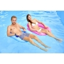 2 sièges flottants piscine kerlis rose et bleu