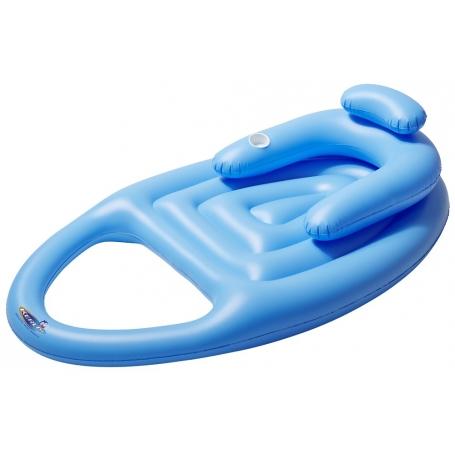 Matelas gonflable LOUNGER SURF bleu