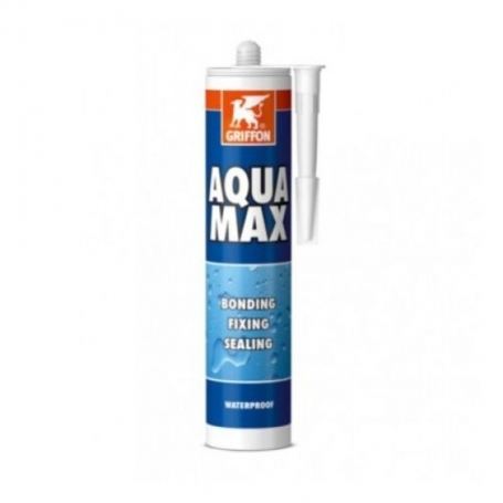 Mastic colle aquamax griffon for Colle pour pvc piscine
